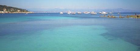 Location de bateaux itinairaire Cannes, les îles de lerins, Mandelieu